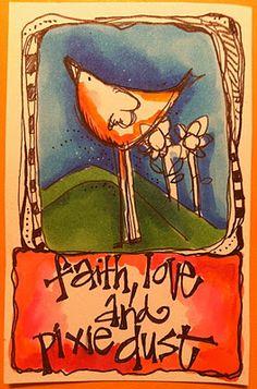 Art journaling by Joanne Sharpe - just begin!