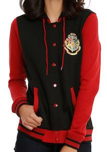 Harry Potter Hogwarts Crest Varsity Jacket