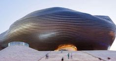 Ordos Museum by MAD Architects in Ordos-China