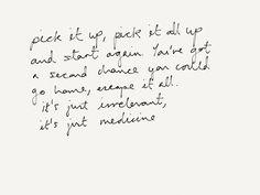 "Daughter lyrics, ""Medicine"""