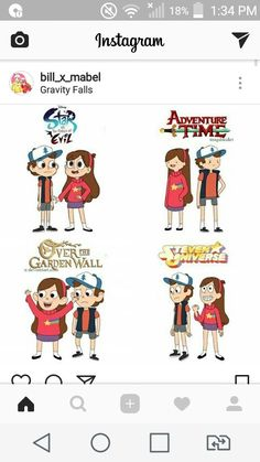 I like the adventure time version - Alles zusammen - Adventure Reverse Gravity Falls, Gravity Falls Dipper, Gravity Falls Fan Art, Gravity Falls Comics, Reverse Falls, Hora Cartoon, Cartoon Memes, Cartoon Shows, Cartoons