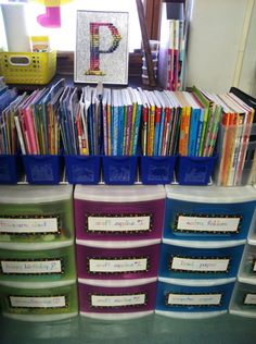 Kreative in Kinder:organization ideas.
