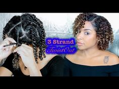 How To: 3 Strand Twistout #naturalhair [Video]  Read the article here - http://blackhairinformation.com/video-gallery/3-strand-twistout-naturalhair-video/