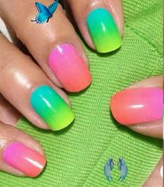 40+ Cute & Bright Summer Acrylic Nails Designs | La Belle Society 40  Colorful & Bright Summer Acrylic Nail Art Designs. If you're looking for Summer nail art ideas such as neon nails and glitter nails in a variety of colors, from orange, blue, red and even hot pink summer nail colors, you're in the right place! Bright Summer Acrylic Nails, long nail designs, short acrylic and bright nail designs. #summernails #acrylicnails #naildesign<br> Summer and colors go hand in hand, so in this post I… Nail Art Designs, Bright Nail Designs, Square Nail Designs, Long Nail Designs, Acrylic Nail Designs, Bright Summer Acrylic Nails, Bright Nail Art, Bright Colors, Minimalist Nails