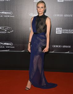 Diane Krugar in Jason Wu, Cannes Film Festival 2012