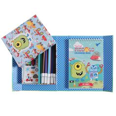 This Little Boys' Favourites Colouring Set is very cool!   Your little boy will love sitting and creating with all the awesome activities.  #stockingfillers #giftideas #forkids ...