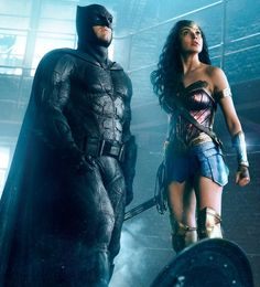 Batman and Wonder Woman in Justice League