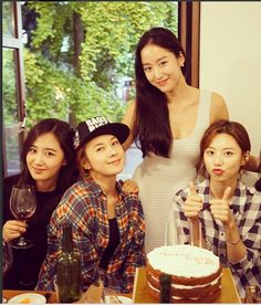 Jeon Hye Bin, Yuri, Chaeyeon, Park Soo Jin