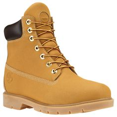With classic good looks, these Timberland waterproof boots are ready to work.