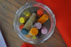 beeswax crayons ♥