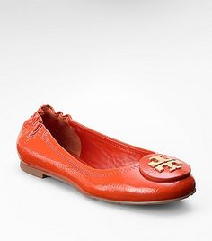 Patent Leather Reva Ballet Flat - Need this color now!