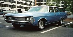 SECOND GENERATION  -  1969 Chevrolet Kingswood Station Wagon
