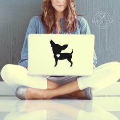 Como resistir a um adesivo desses? De vira-latas a cães de raça, cachorro é TUDO DE BOM!🐶🐩😍http://bit.ly/2kwBd89    #chihuahua #dog #pet #quatropatas #cachorro #petlovers #macbook #notebook #wegloo #usewegloo #beaglooer #glooyoutoo  #shop #shoponline #compraonline