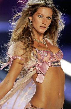 Gisele Bundchen walks the runway at the Victoria's Secret Fashion show in New York. Picture: AP