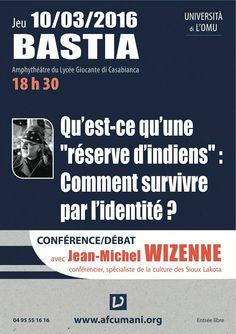 """Conférence/Débat """"Comment survivre par l'identité? """"avec Jean-Michel Wizenne"""