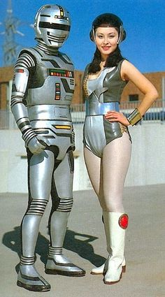 """Future costume robot!"" ~retro-futurism"