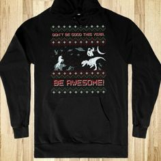 Be Awesome Hoodie