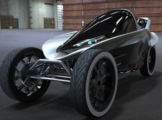 The Arrow, Electric Concept Vehicle, electric car design, Charles Bombardier, The Arrow cockpit, electric commuter vehicle, concept vehicle, tandem electric car, electric vehicles, improved EV range,