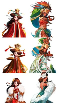 Female Character Design, Character Design Inspiration, Character Concept, Character Art, Concept Art, Character Illustration, Illustration Art, Arte Sci Fi, Aztec Culture