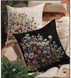 вышитые подушки - Pesquisa Google
