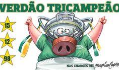Charge - Palmeiras campeão