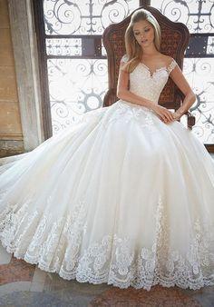Mori Lee by Madeline Gardner 2889 Wedding Dress - The Knot