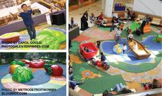 For those rainy/snowy days we just need to get out and play:  Mall Play Areas for Kids in Southeast Michigan
