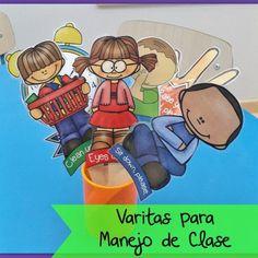 VARITAS PARA MANEJO DE CLASE