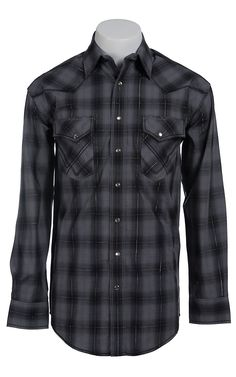 Rough Stock Men's Long Sleeve Western Snap Shirt $56.00
