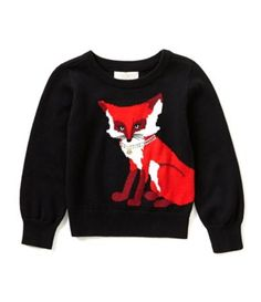 kate spade new york 2-6 Fox Sweater