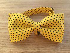 Bow Tie Bowtie Boys Bowtie Yellow Bowtie Blue Bowtie by ZoeBowies