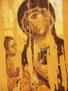 Virgin Hodegetria. 13th c. Hilandar monastery, Mt Athos.