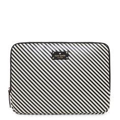 kate spade | diagonal stripe laptop sleeve