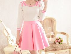 ♡this is my version of a casual outfit love that sweater and skirt