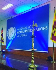 The stage is all set for #NYMUN2016 & #IntCa is all eyes and eyes reporting and capturing moments of the conference. #IntCaGram #MUN #lka