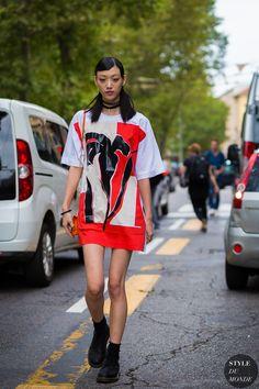 Milan Fashion Week SS 2016 Street Style: Sora Choi