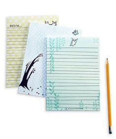 #Stationery Set by boygirlparty, available at http://boygirlparty.etsy.com