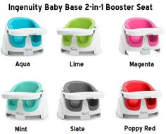 Check my reviews with ratings on Ingenuity baby base 2 in 1 booster seats, the high back floor and chair booster seats.