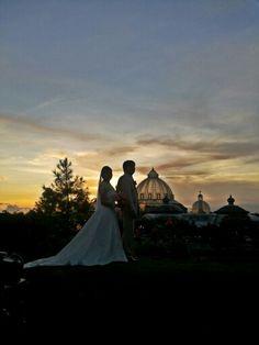 Sunset at Fernbrook Garden.