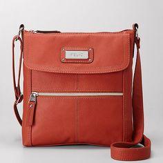 $37.00 at Kohls - Relic Erica Flap Cross-Body Handbag in Burnt Orange