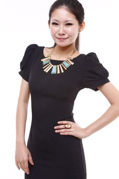 Simple Black Dress   from: Alvila Boutique
