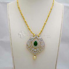 Indian Jewelry Sets, India Jewelry, Gold Pendent, Diamond Pendant, Locket Design, Jewelry Design, Gold Chain Design, Diamond Jewellery, Jewelry Patterns
