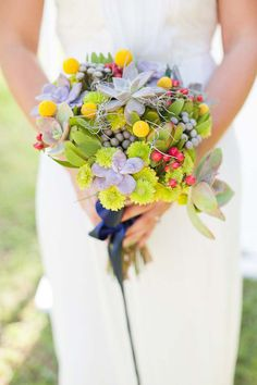 Bright + colorful bouquet
