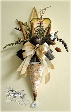Our Daily Bread designs Blog: Time With Grace and a fun Christmas decoration!