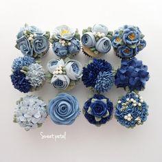 Flower buttercream cupcake