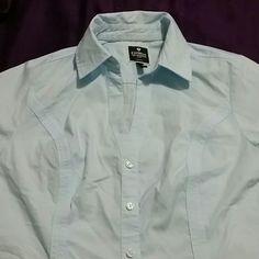 Long sleeve shirts Read info Express long sleeve shirts ,like new ,my daughter wore  for a job interview once.,I m selling 3 total , 2 light blue and 1 light pink $10  each.colors are actually brighter than pictures.perfect fot spring. Express Tops Button Down Shirts