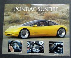 Pontiac Sunfire Concept Car  #Pontiac #sunfire #windscreen http://windblox.com