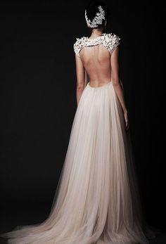 Une robe de mariée couture