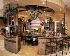 Nice kitchen. I'd move the table in the middle tho..