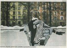 OutsaPop Trashion DIY sweater cape jacket tutorial